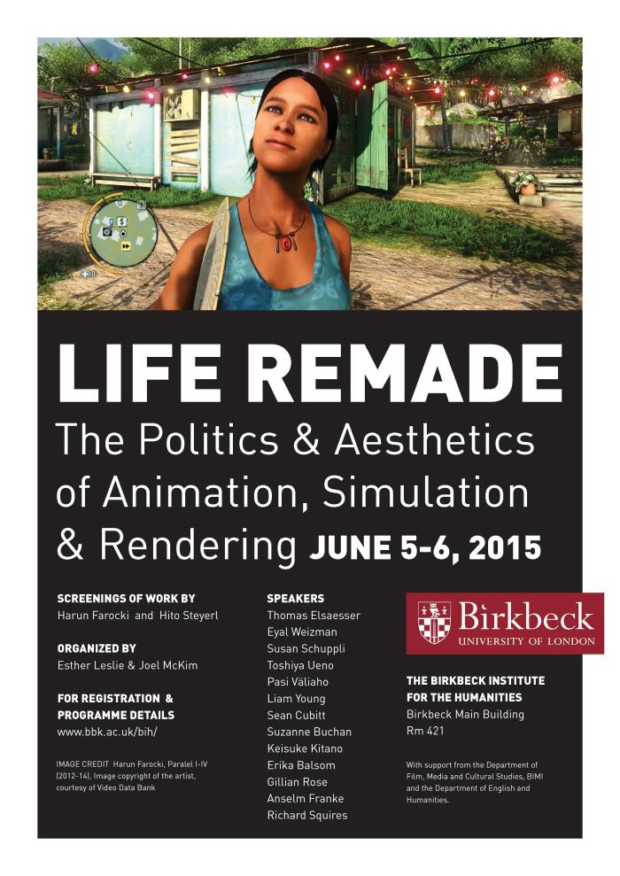 Life Remade: Politics of Animation Symposium